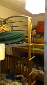 Who needs soft play when your bedroom is like this!