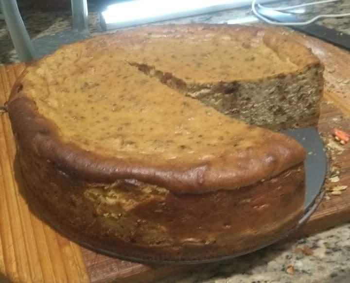 Brown Bread Ice Cream Cheesecake